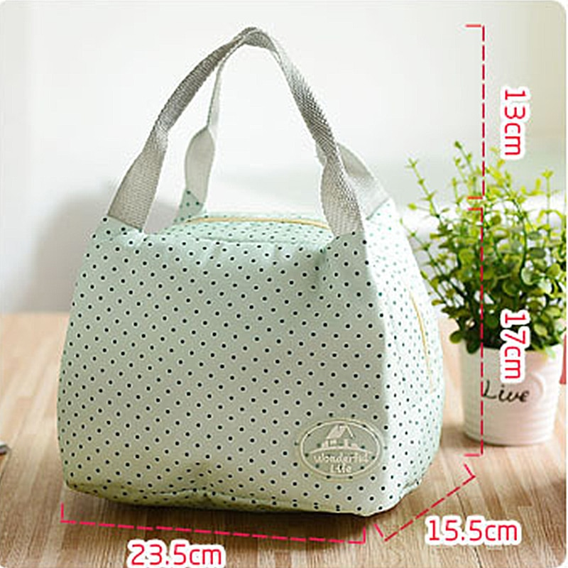 Outdoor Camping Lunch Bag Thermal Food Lunch Picnic Bag Women Cooler Insulated Lunch Thermal Bags Picnic Basket Cooler Box (5)