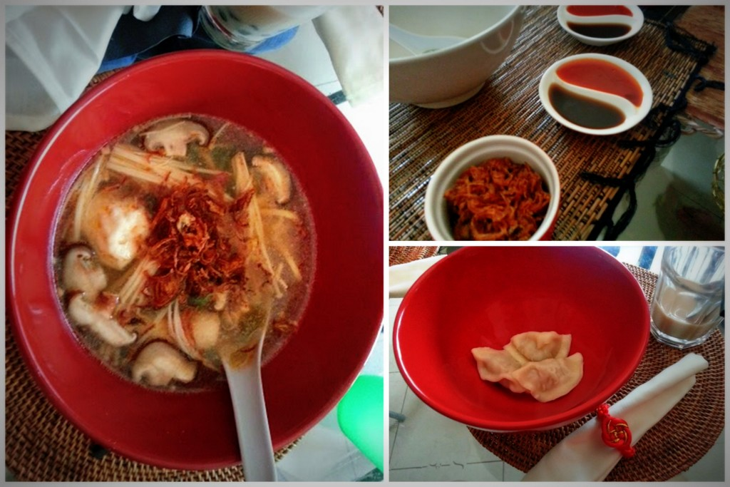Hot Pot noodle dish for Chinese New Year