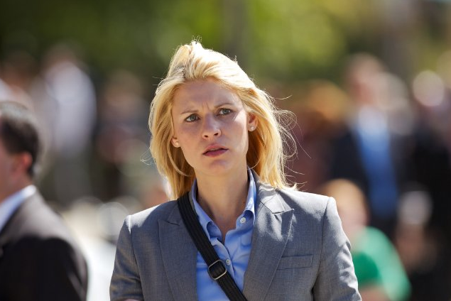 Claire Danes as Carrie Mathison in Showtime