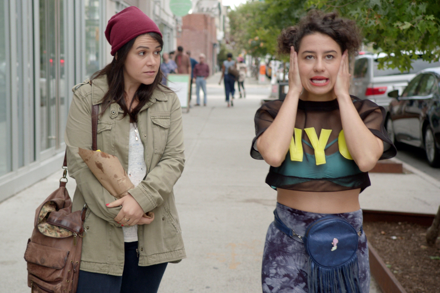 From left: Abbi Jacobson and Ilana Glazer in Broad City.