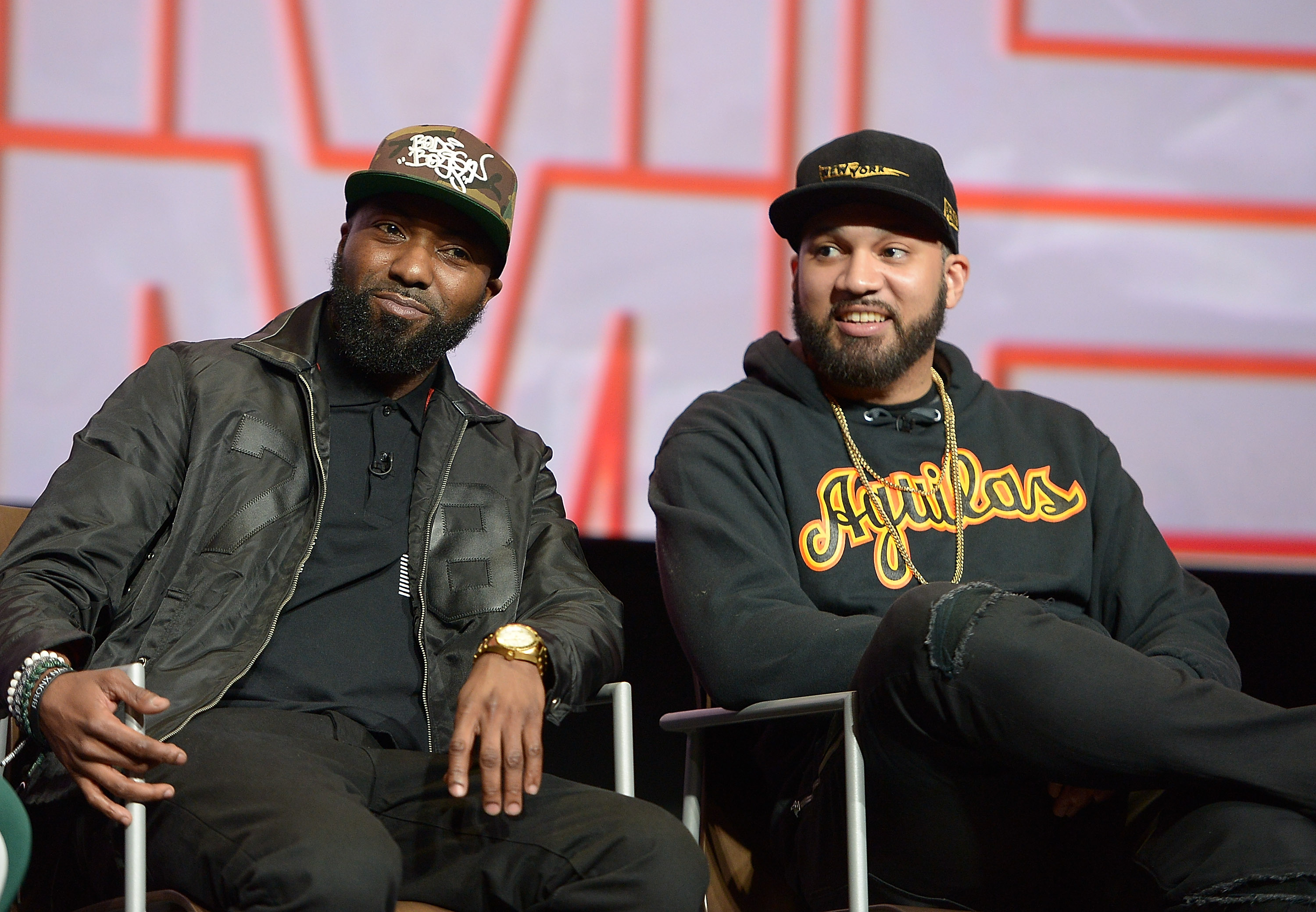 Desus Nice and The Kid Mero participate in a q&a at the FYC Event for VICELAND