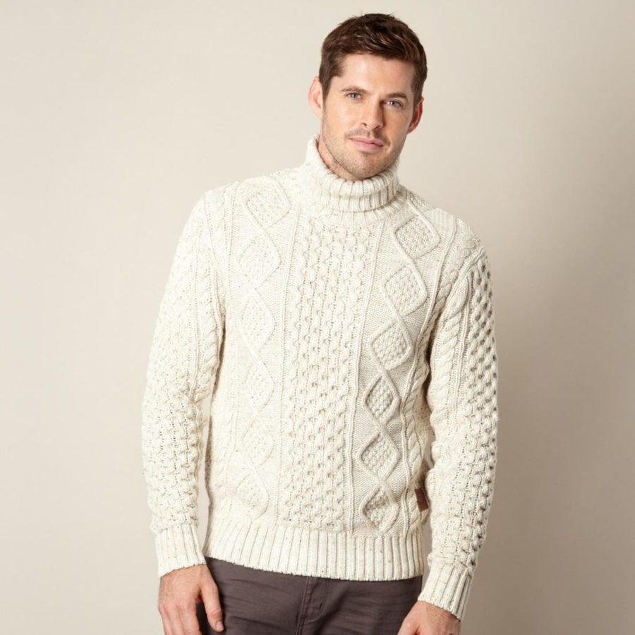 Cable knit jumpers