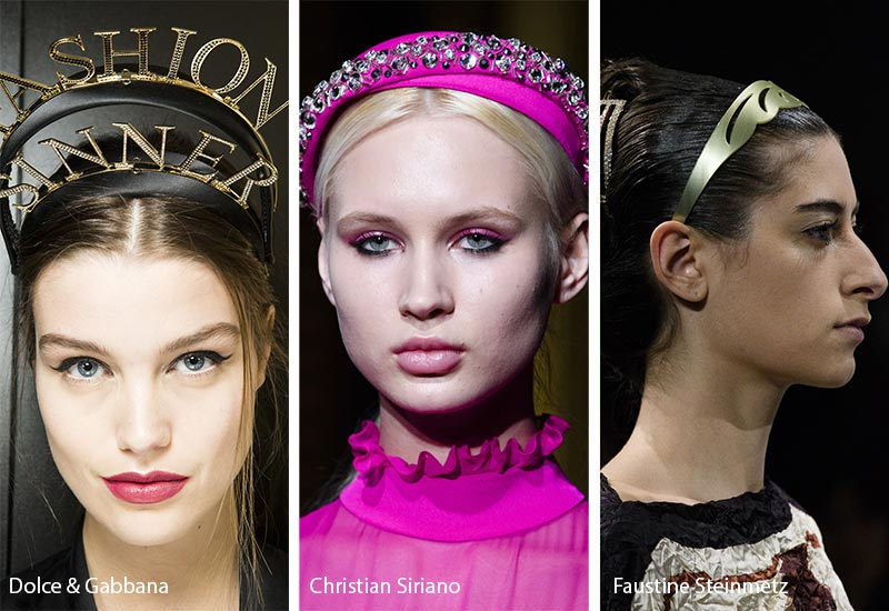 Fall/ Winter 2018-2019 Hair Accessory Trends: Headbands