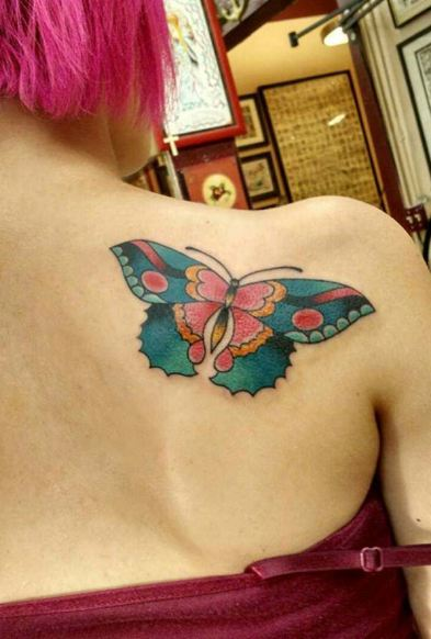 Butterfly Tattoos For Girls