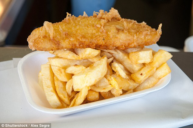 Removing fish and chip grease stains is easy if you have cornflour or talcum powder in the house