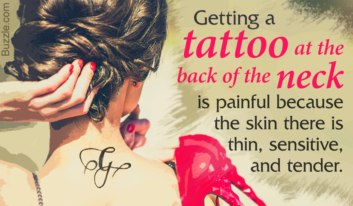 Are Back of the Neck Tattoos Painful?