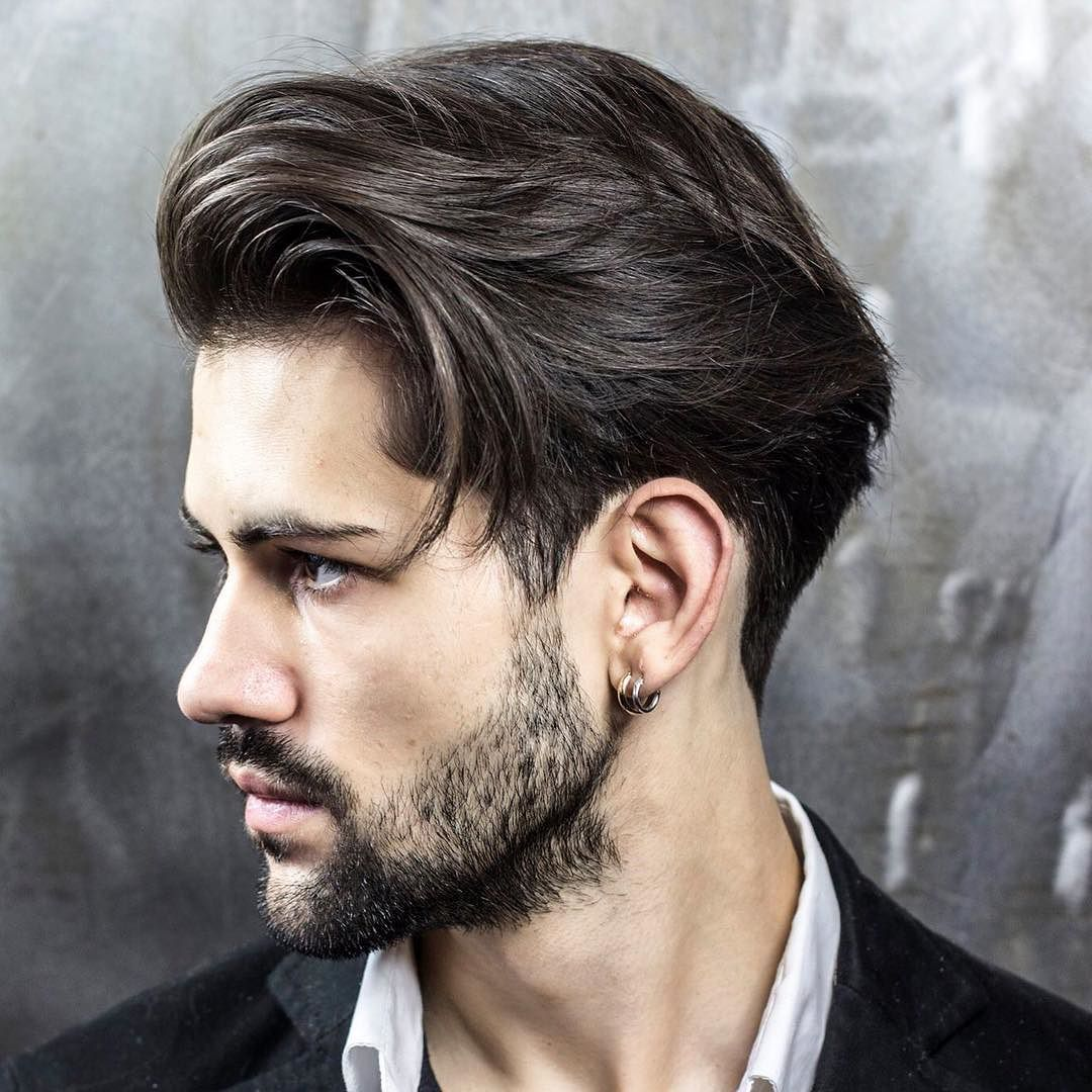 braidbarbers_and medium hairstyles for men all scissor cut