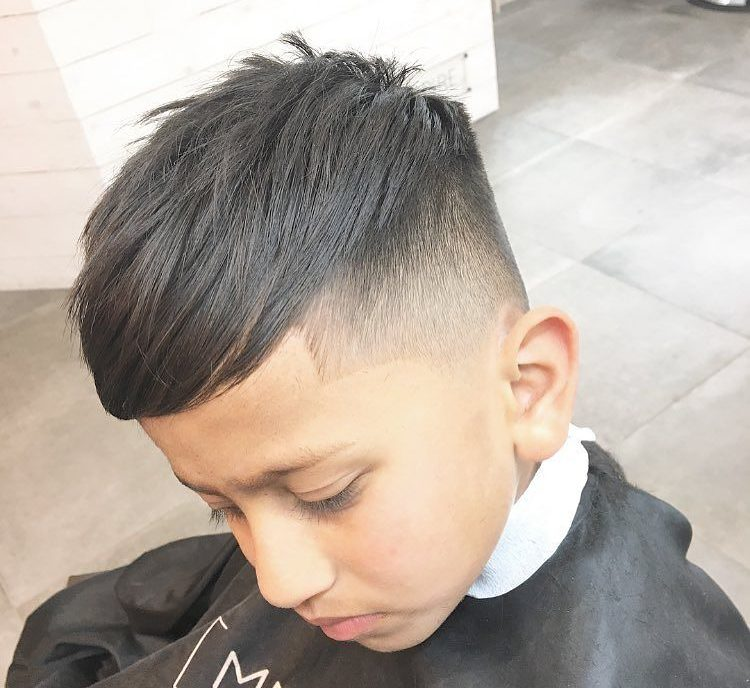 Disconnected undercut for boys
