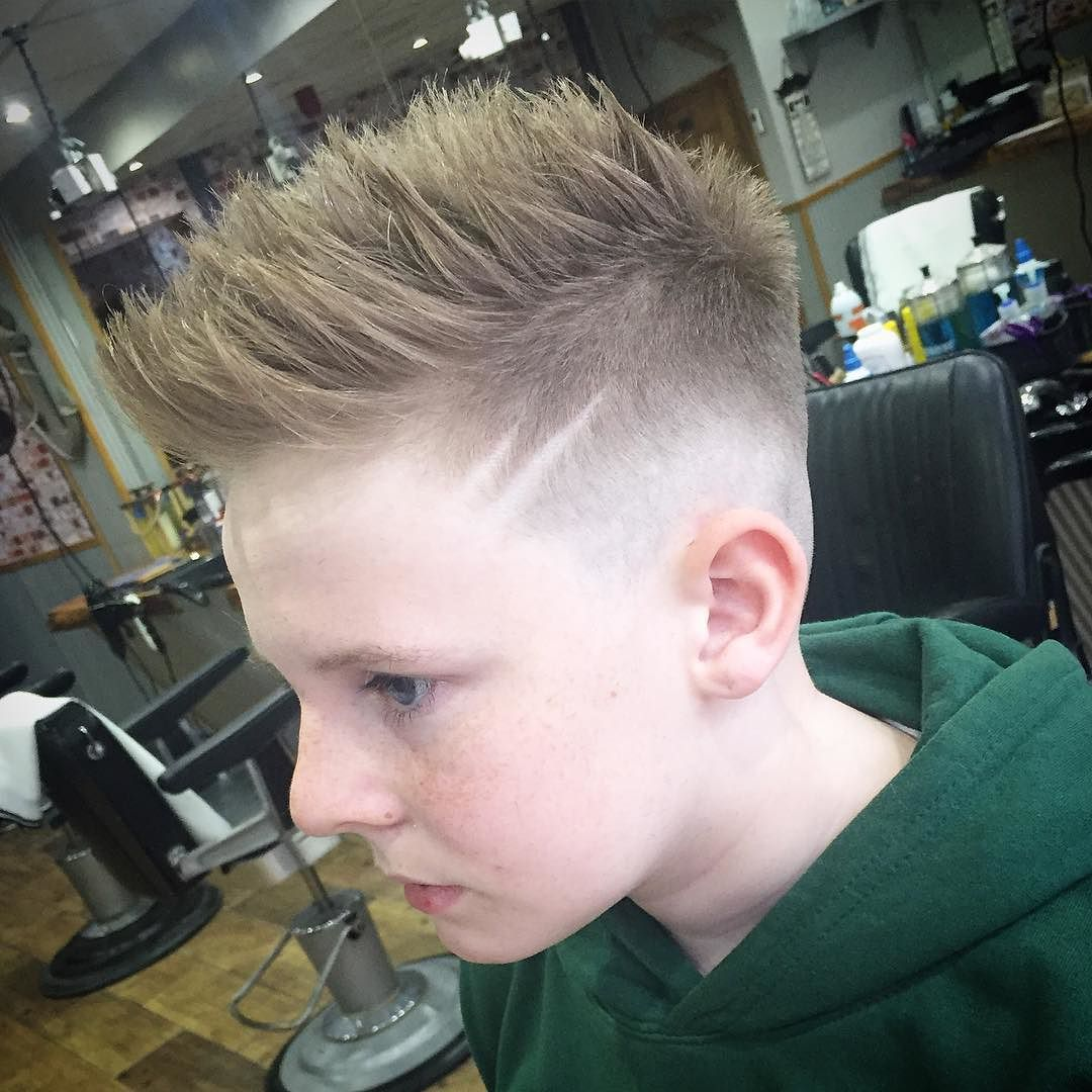 spiky hairstyles for boys