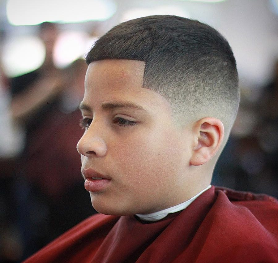 short boys hairstyle