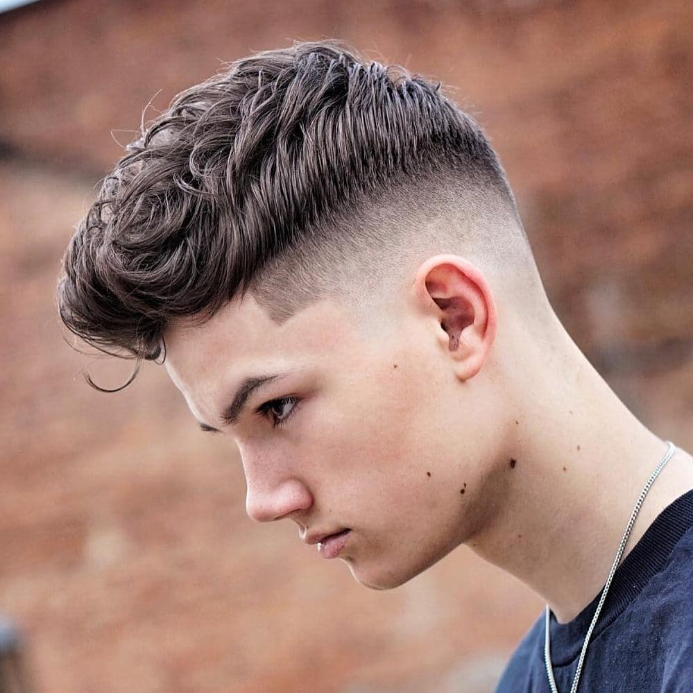 Cool teen boy haircuts