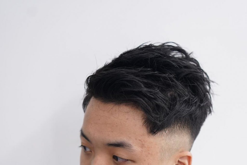best haircuts for wavy hair Asian men