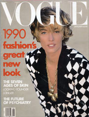 1990 Fashion: Vogue Magazine Cover