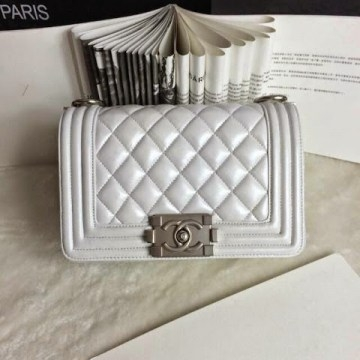 Сумка Chanel BOY White