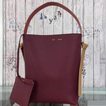Сумка Celine Shiny Smooth Burgundy and Navy Blue