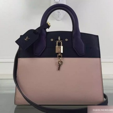 Сумка Louis Vuitton CITY STEAMER PM Vanille Noir