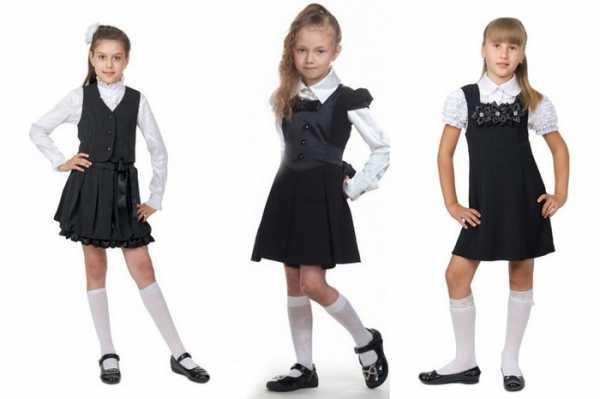cbf64d55df7 Школьная форма для девочек включает в себя: пиджак или жакет, юбку,  сарафан, брюки. Нужно подбирать ее так, чтобы ребенок мог носить форму в  теплом варианте ...