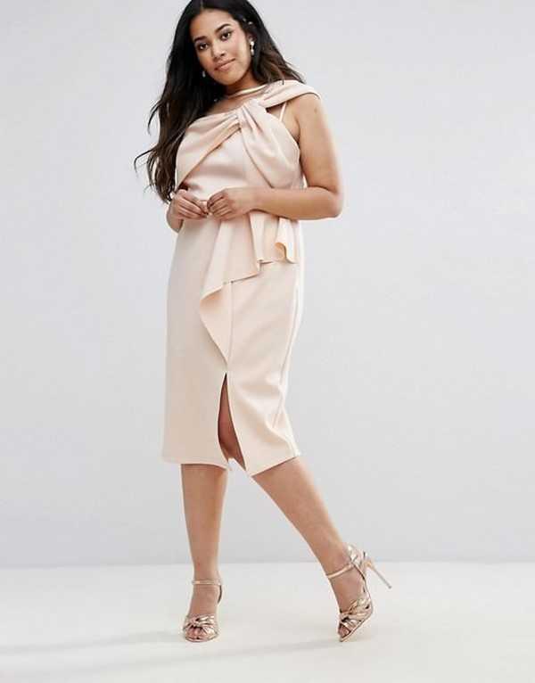 f454cf855be4 Фото платья для полных женщин стильные – Красивые платья для полных ...