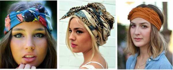 f0bb367a3e7f Как завязать платок на голову летом – способы завязавания зимой и ...