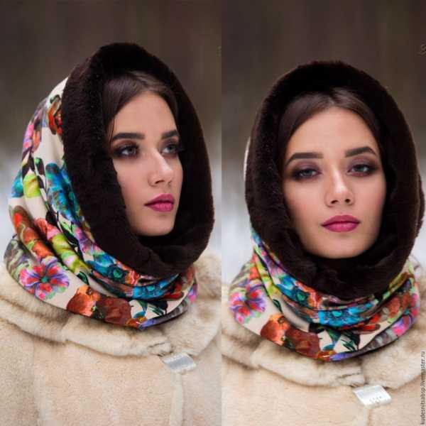 416b3d4063b4 Красиво платок на голову – Как завязать красиво на голове платок ...