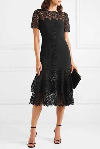 9ce1709b7fe8 Платье в пол с кружевом черное – в пол, короткое, прозрачное ...